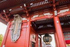 Templo de Sensoji en Tokio, Japón Foto de archivo libre de regalías
