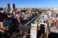 Templo de Sensoji, Tóquio, Japão Foto de Stock Royalty Free