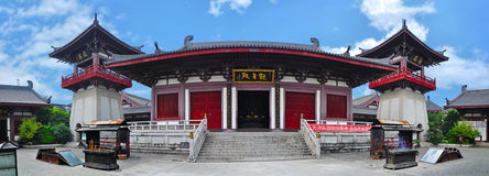 Templo de Shangai Imágenes de archivo libres de regalías