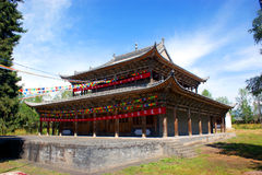 Templo de Shengyou imagenes de archivo
