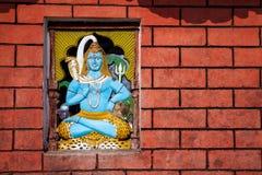 Templo de Shiva em Nepal imagens de stock royalty free