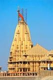 Templo de Shiva Somnath Foto de archivo