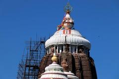 Templo de Shree Jagannath em Puri em Odisha, Índia foto de stock