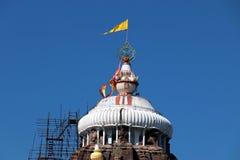 Templo de Shree Jagannath em Puri em Odisha, Índia fotografia de stock royalty free