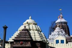 Templo de Shree Jagannath em Puri em Odisha, Índia foto de stock royalty free
