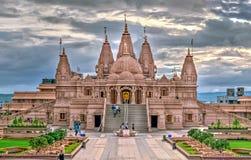 Templo de Shree Swaminarayan, Ambegaon, Pune fotos de stock
