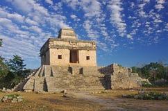 Templo de las muñecas de Dzibichaltun siete Foto de archivo