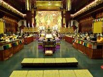 Templo de Singapur Buda fotografía de archivo libre de regalías