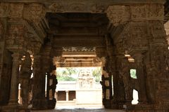 Templo de Someshwara, Kolar, Karnataka, Índia Fotos de Stock Royalty Free