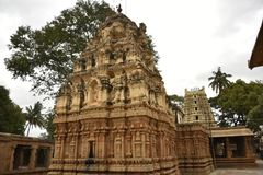 Templo de Someshwara, Kolar, Karnataka, Índia foto de stock royalty free
