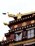 Templo de Songzanlin imagem de stock