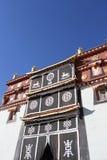 Templo de Songzanlin em Shangrila fotografia de stock