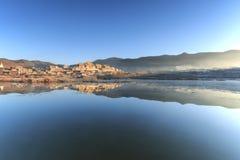Templo de Songzanlin, monastério de Ganden Sumtseling Imagens de Stock