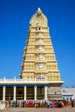 Templo de Sri Chamundeswari Imagem de Stock