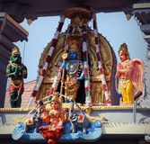 Templo de Sri Krishna Matha - Udupi, Karnataka, Índia imagens de stock royalty free