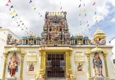 Templo de Sri Mahamariamman en Penang Imágenes de archivo libres de regalías