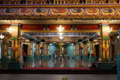 Templo de Sri Mahamariamman, Kuala Lumpur Fotos de archivo libres de regalías