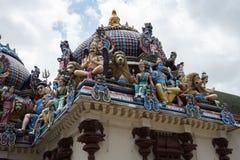 Templo de Sri Mariamman, Singapur Imagenes de archivo