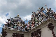 Templo de Sri Mariamman, Singapur Fotos de archivo libres de regalías