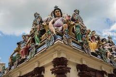 Templo de Sri Mariamman, Singapur Fotografía de archivo libre de regalías