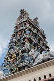 Templo de Sri Mariamman, Singapur Imagen de archivo