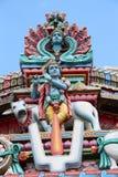 Templo de Sri Mariamman - Singapur Imagen de archivo libre de regalías