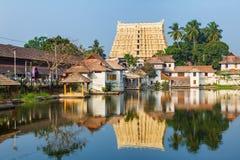 Templo de Sri Padmanabhaswamy en Trivandrum Kerala la India Foto de archivo libre de regalías
