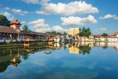 Templo de Sri Padmanabhaswamy en Trivandrum Kerala la India fotografía de archivo libre de regalías