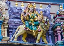 Templo de Sri Veeramakaliamman Imagenes de archivo