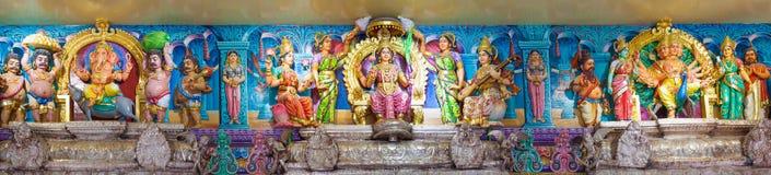 Templo de Sri Veeramakaliamman fotos de archivo