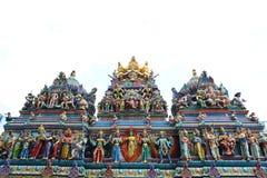 Templo de Sri Veeramakaliamman en Singapur Fotografía de archivo libre de regalías