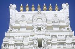 Templo de Sri Venkateshwara en Malibu California Fotos de archivo