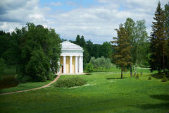 Templo de St Petersburg Pavlovsk da amizade Fotografia de Stock