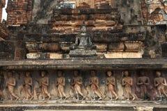 Templo de Sukhothai Fotos de Stock Royalty Free