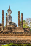 Templo de Sukhothai em Tailândia foto de stock royalty free