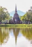 Templo de Sukhothai em Tailândia fotografia de stock royalty free