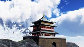 Templo de Sun - capilla budista Foto de archivo libre de regalías