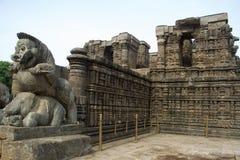 Templo de Sun em Konark Imagens de Stock