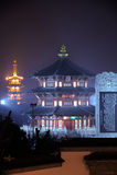 Templo de Suzhou Hanshan Imagens de Stock