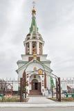 Templo de Svyatonikolsky Tyumen Rússia Imagem de Stock Royalty Free