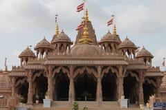 Templo de Swaminarayan, Mahesana - Índia Foto de Stock