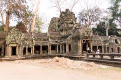 Templo de Ta Prohm Imagem de Stock Royalty Free