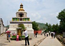 Templo de Taer imagen de archivo libre de regalías