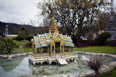 Templo de Tailandia Imagen de archivo
