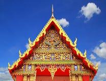 Templo de Tailandia del modelo en Tailandia Fotografía de archivo libre de regalías