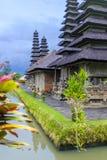 Templo de Taman Ayun em Bali Foto de Stock Royalty Free