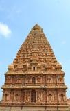 Templo de Tanjore fotos de archivo libres de regalías