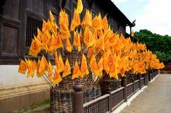 Templo de tao del retruécano y cultura de Chiangmai, Tailandia fotos de archivo libres de regalías