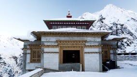 Templo de Tengboche Foto de archivo libre de regalías