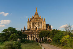 Templo de Thatbyinnyu fotos de archivo